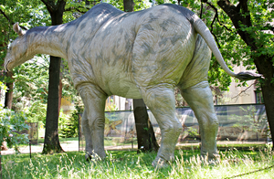Behind the Paraceratherium/Indricotherium by Lynus-the-Porcupine