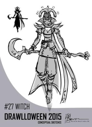 DH27 witch by laurabevon by LauraBevon
