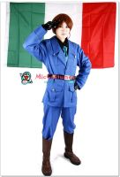 Hetalia Axis Powers Italy Cosplay Costume by miccostumes
