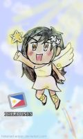 APH Philippines: Chibi Angel Takes Off! by marimariakutsu