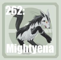 262 mightyena by Pokedex