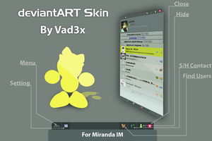 DeviantArt Skin For Miranda IM by vad3x