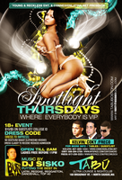 SPOTLIGHT THURDAYS FLYER by DeityDesignz