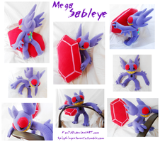 Mega Sableye by Fox7XD