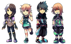 Adoptable Set 006: Destiny Kids [CLOSED] by Ayanocozey