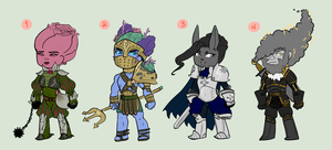 Knight Adopts -- OPEN by SpazYourBunny