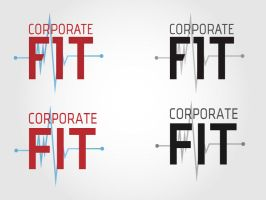 Corp Fit Logo 1 by pointblankcreativity