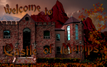Castle of Manips Welcome Banner by WDWParksGal-Stock