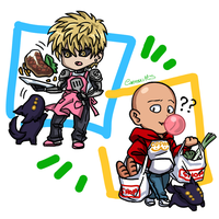 OPM Magnets - Genos / Saitama / Rover by CarmenMCS