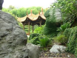 Chinese Gardens 4 by oakstock