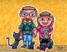 My Family - Chibi Style by TCosbyJr