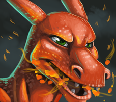 Charizard Faaaaace by Gashu-Monsata