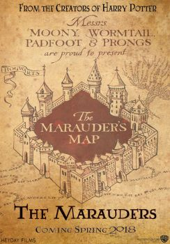 Marauders Movie Poster by harryandhermionefan