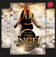 Angel Dreams - Flyer template by isoarts2