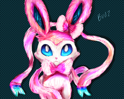 Sylveon by Iffy-Jiffy