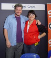 Me and Dan Green-voice of yugi by Jezzy-Fezzy