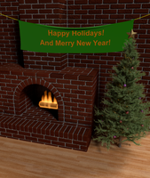 Christmas Render version 2 by tsolron