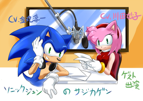 SONICandAMY Japanese  Voice by GaruGiroSonicShadow