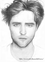 Robert Pattinson by o-renata