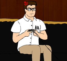 Angry Video Game Nerd by soryukey
