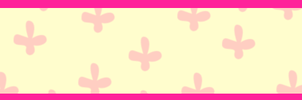 Pink-Yellow-Flower-Simple-Banner by lyssagal