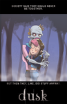 Dusk - A Zombie Love Story by AndyKluthe