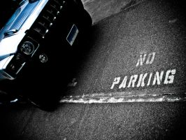 No Parking by ksouth