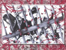 Saiyuki Red Jail WP by sylphkeeper