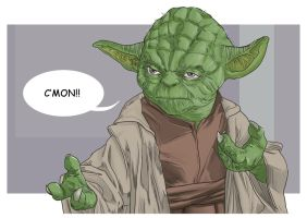 Yoda by uger