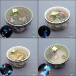 New Miniature Sake Cup Ponds by Bon-AppetEats