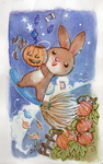 Fall Bunny Candy by DivaLea