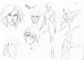July Sketches 2 by R62