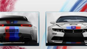 BMW RZ M6 PSP wall by DeviantSith