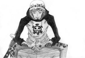 Trafalgar Law by PrincessPokemon
