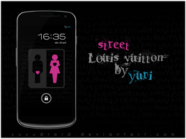wallpaper street louis vuitton by yuyudroid