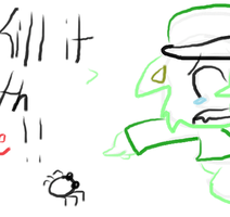 animation Flippy HTF- KILL IT WITH FIRE! by cupcakecat123123