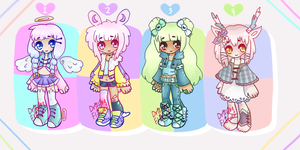 AUCTION | Adopts [CLOSED] by hello-planet-chan