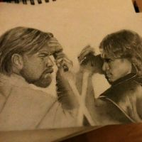 obi wan/anakin face off by phillipsnow