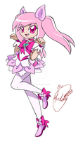 HeartCatch PreCure! OC- Cure Lilycat by Kiddysa-NekoVamp