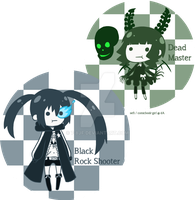 .: BRS and DM mini chibis :. by 7-8jf
