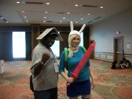 Animefest '12 -  Me and Fiona by TexConChaser