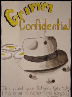 Grimm Confidential Cover by nickini