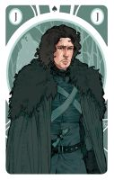 Game of Thrones' cards | Jack Jon Snow by SimonaBonafiniDA