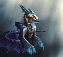 Watercreature by OrmIrian