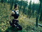 Lara Croft - autumn by TanyaCroft
