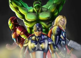 The Avengers by StitchParadox