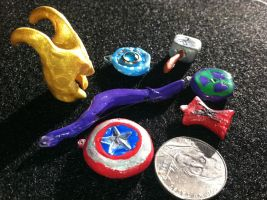 Avengers Charms by AiwenStarr