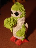 Yoshi 3-D Origami Angle by DevilBahamutX