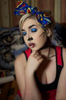 Pop Art/Comic Book Makeup by nikkipandahat