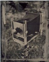 View Camera Ambrotype by RedManWhiteRabbit